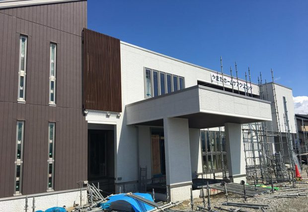 高屋敷に新クリニックを建設中です。
