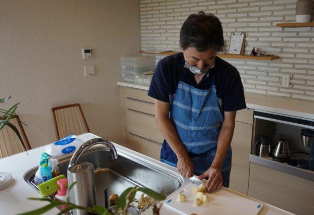 「男の料理教室」