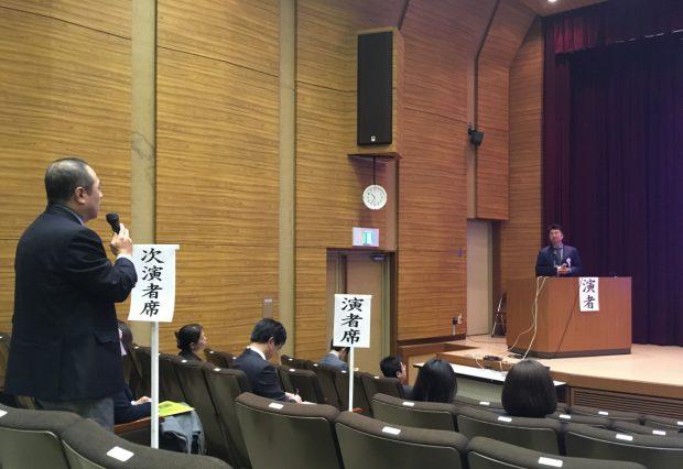 1/29 院長が富山県医学会で発表をしました。